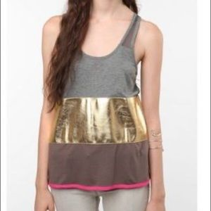 Urban Outfitters Upson Downes Color Block Tank Top